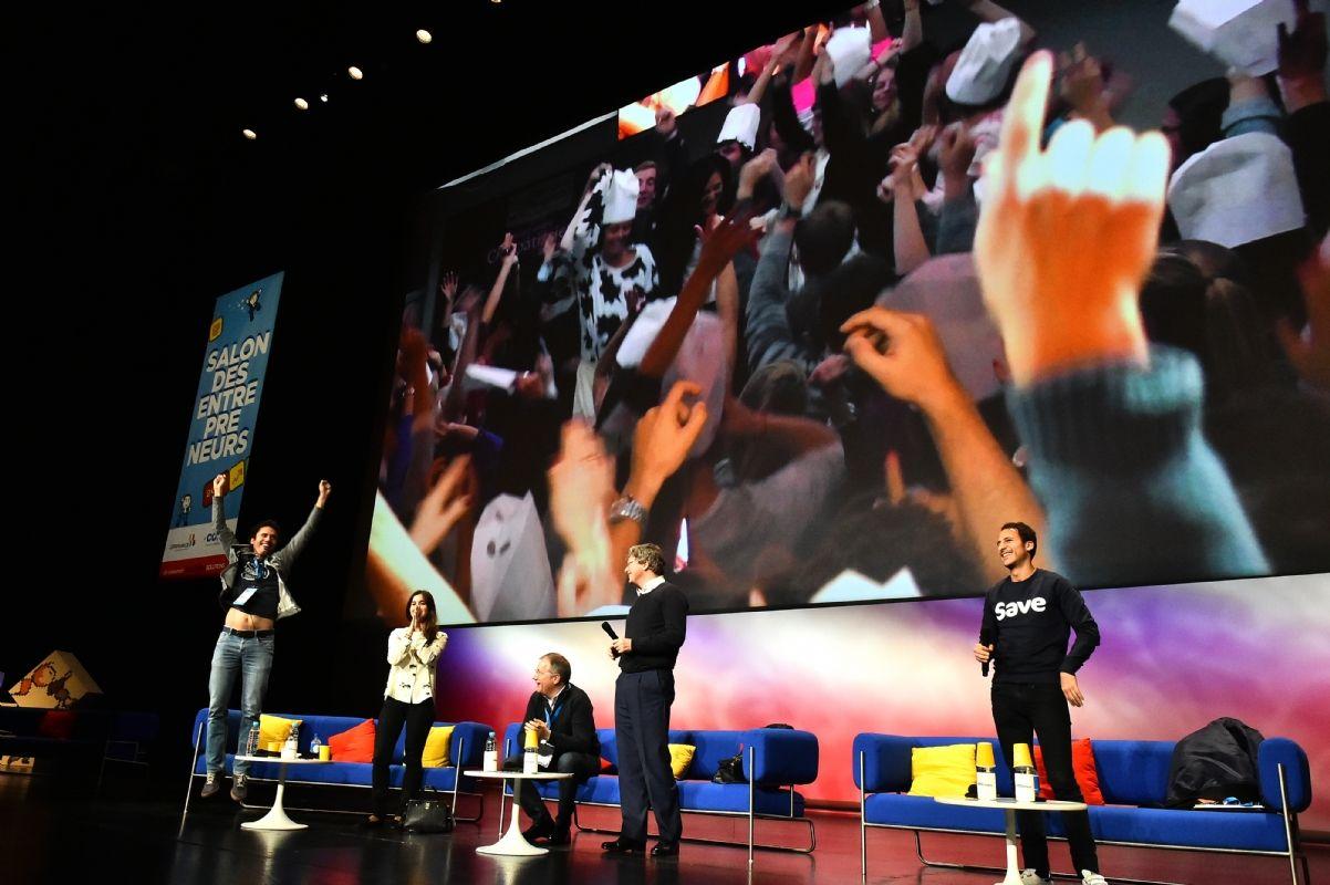 Salon des entrepreneurs le meilleur de la seconde journ e for Salon des entrepreneurs paris 2016