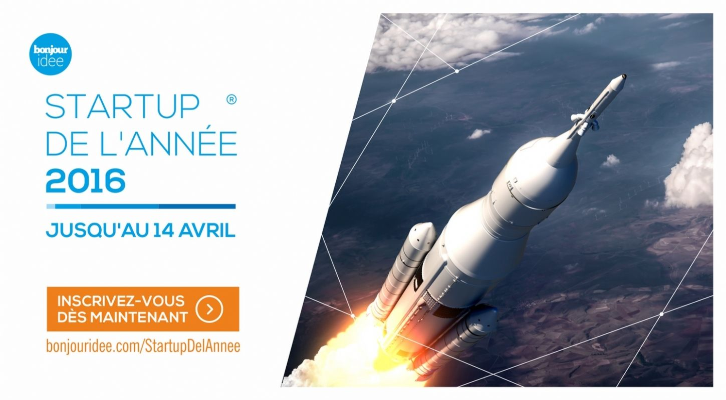 Bonjour id e lance le concours de la start up de l 39 ann e 2016 for Idee start up usa