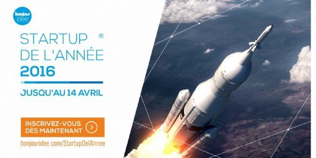 Bonjour Idée lance le concours de la start-up de l'année 2016