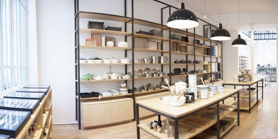 Le concept store 'la Trésorerie', implanté dans le 10e arrondissement, a été récompensé par Paris Shop & Design en 2014