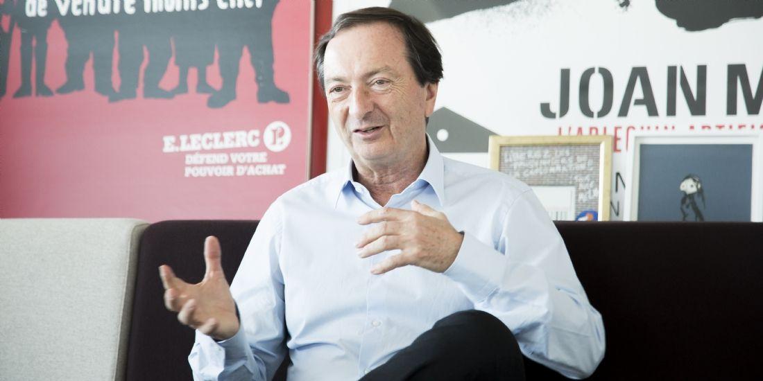 Michel-Édouard Leclerc: 'Je fédère des entrepreneurs ayant des projets de société'