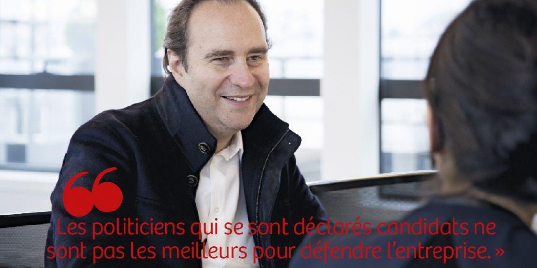 """Xavier Niel (Free) : """"La France est un paradis pour entreprendre"""""""