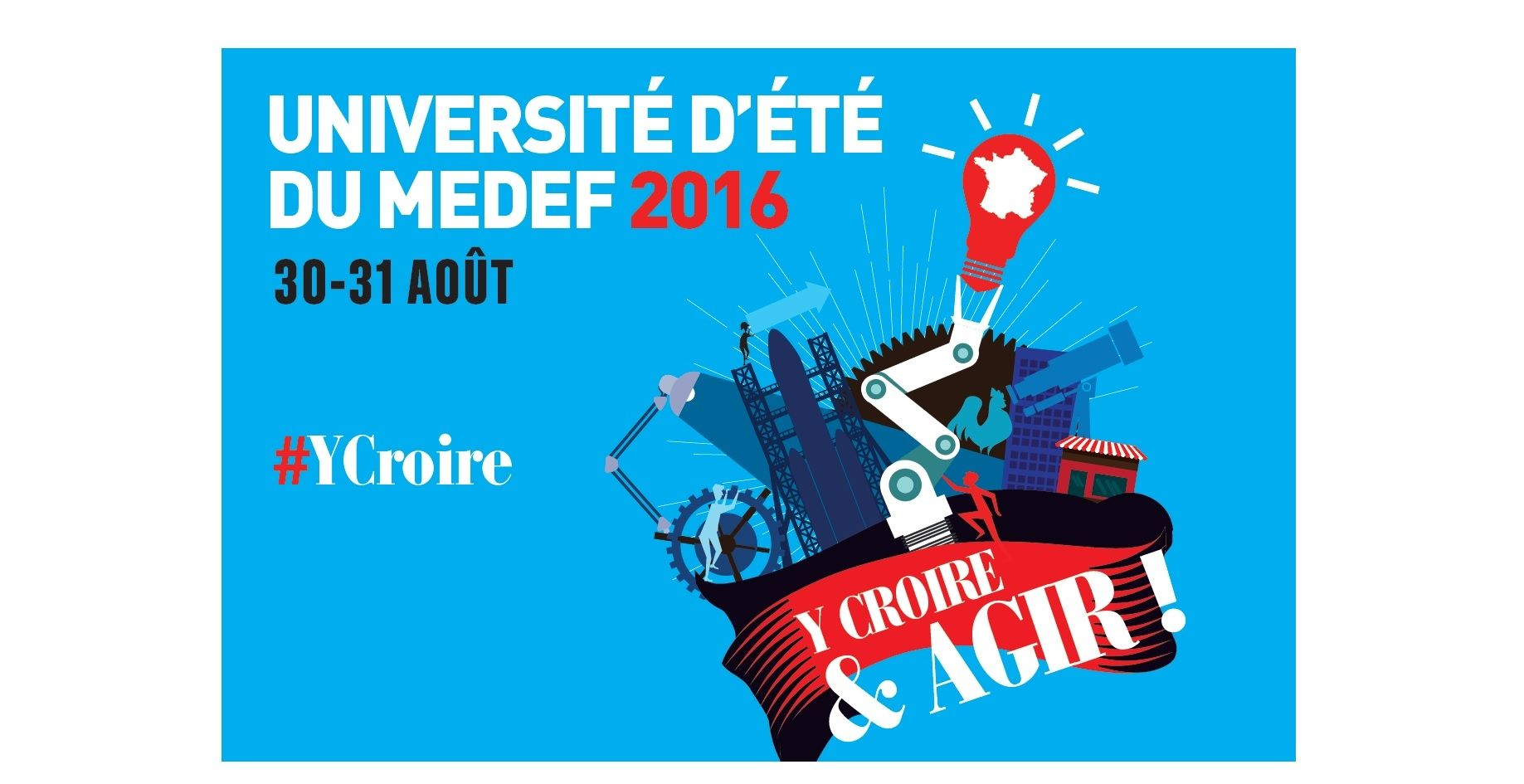 Thematique profession  Breves Medef tiendra son Universite ete aout