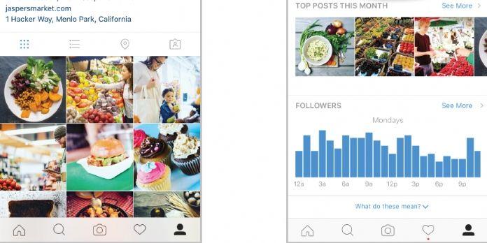 Instagram : les profils 'commerciaux' arrivent en France