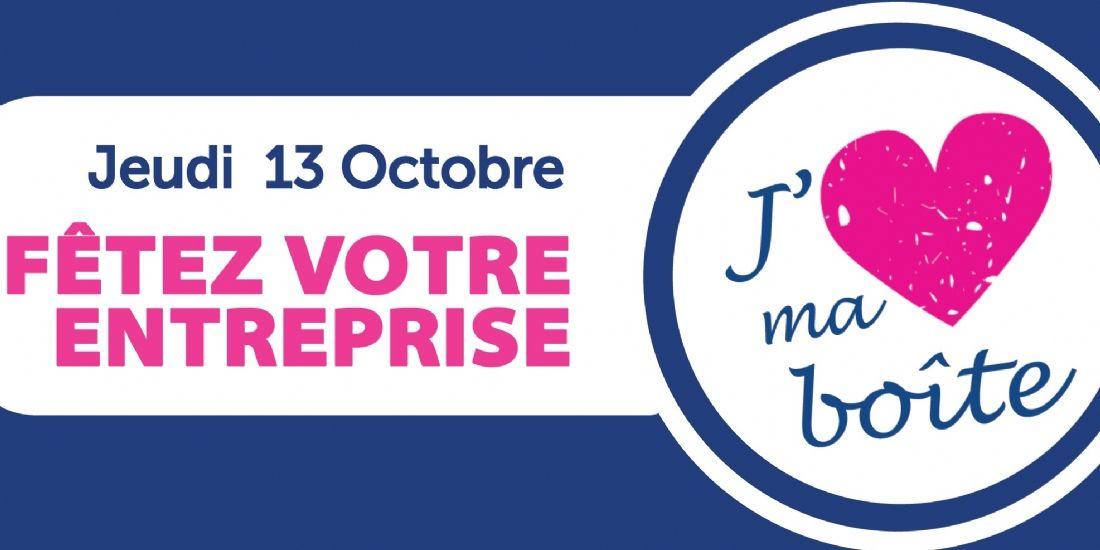 'J'aime ma boîte': fêtez votre entreprise le 13 octobre 2016
