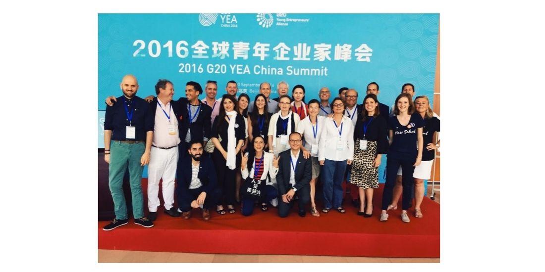 Dans les coulisses du G20 YEA avec Caroline Lamaud, entrepreneuse : jour 1