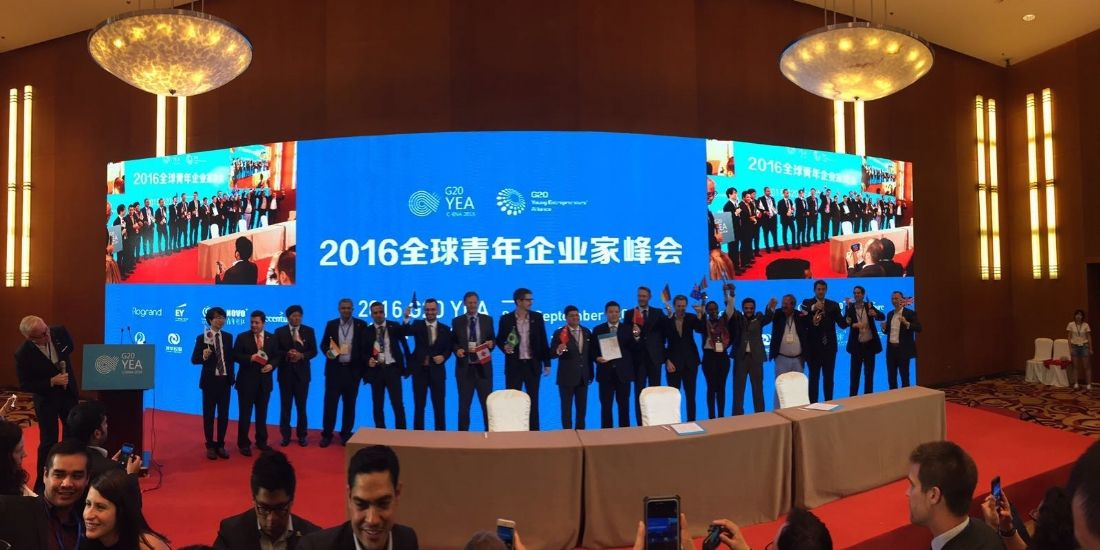Entrepreneuriat : Caroline Lamaud (Anaxago) raconte son G20 YEA (2)