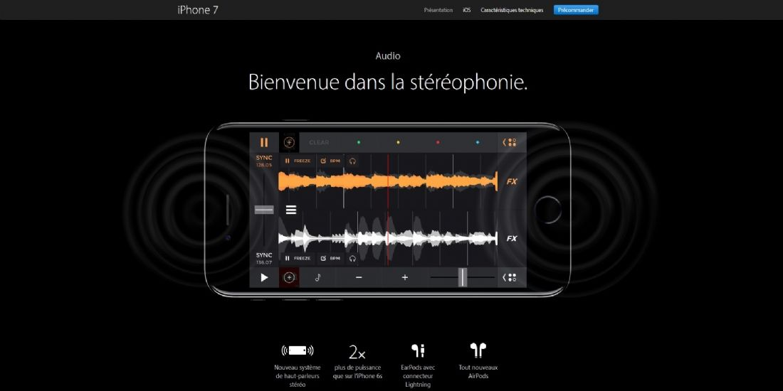 Comment DJiT a été associée au lancement de l'Iphone7 d'Apple