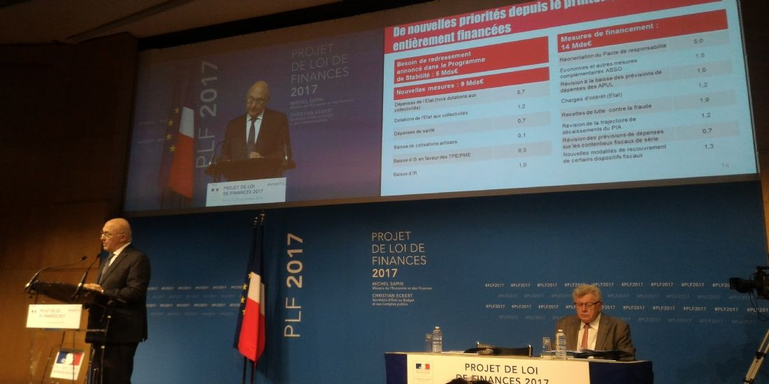 PLF 2017 : les 8 mesures qui impactent les TPE et les PME