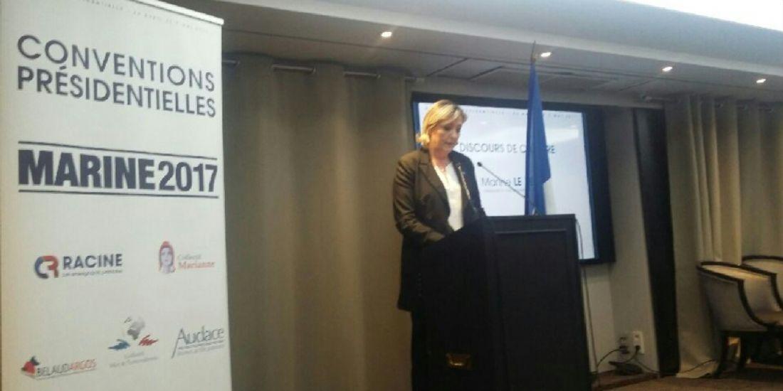 Présidentielle 2017 : 4 mesures de Marine Le Pen pour les entreprises
