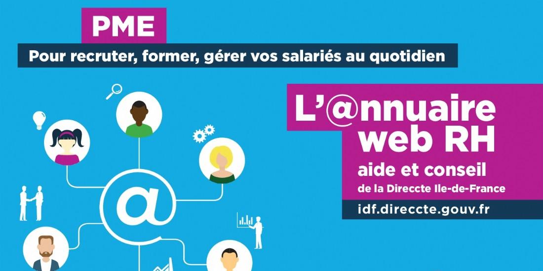 Ile-de-France : un annuaire web de gestion RH pour les TPE et PME