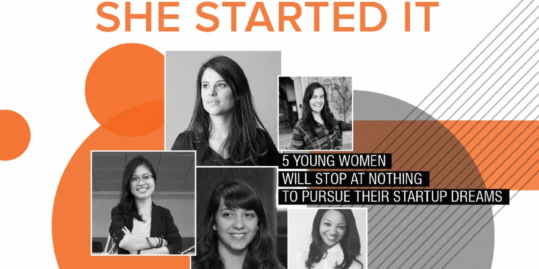 """She Started It"" : 5 jeunes dirigeantes de la tech inspirantes"