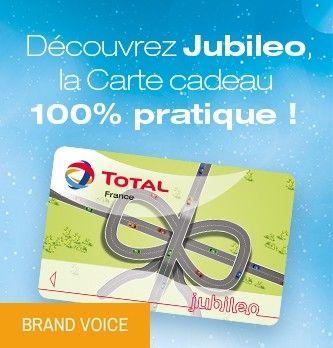 Carte Total Jubileo.Fidelisez Vos Collaborateurs Et Vos Clients Avec La Carte