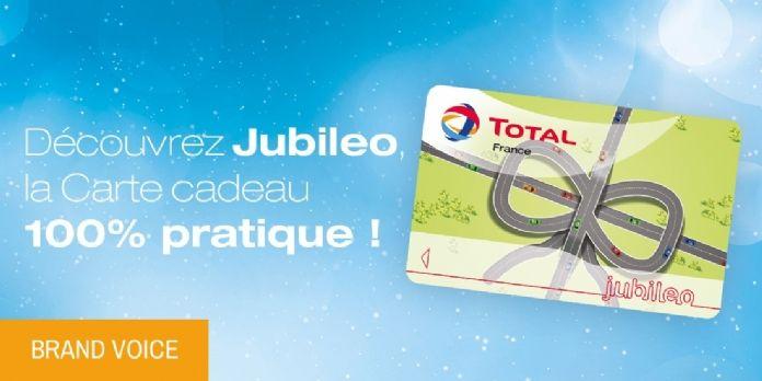Fidélisez vos collaborateurs et vos clients avec la carte Total Jubileo