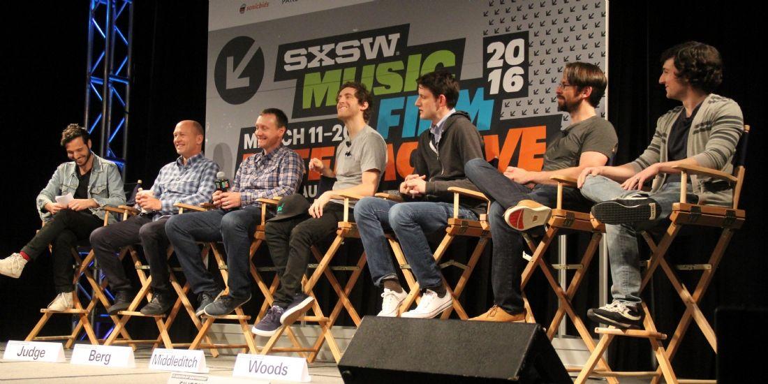Le casting de la série Silicon Valley au SXSW.