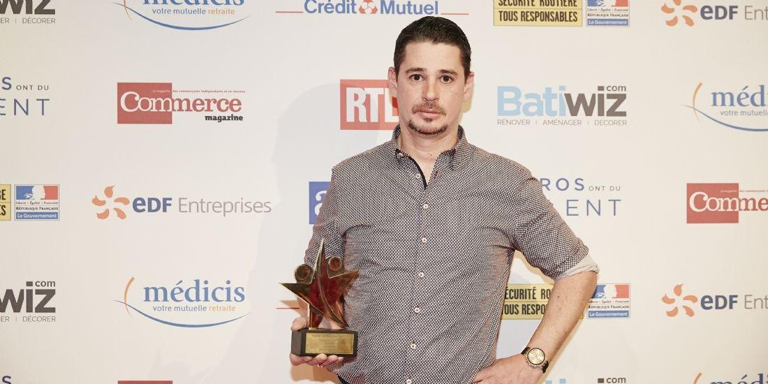Les Pros ont du talent 2017 : Cyril Boulet, lauréat Or de la catégorie 'Croissance'
