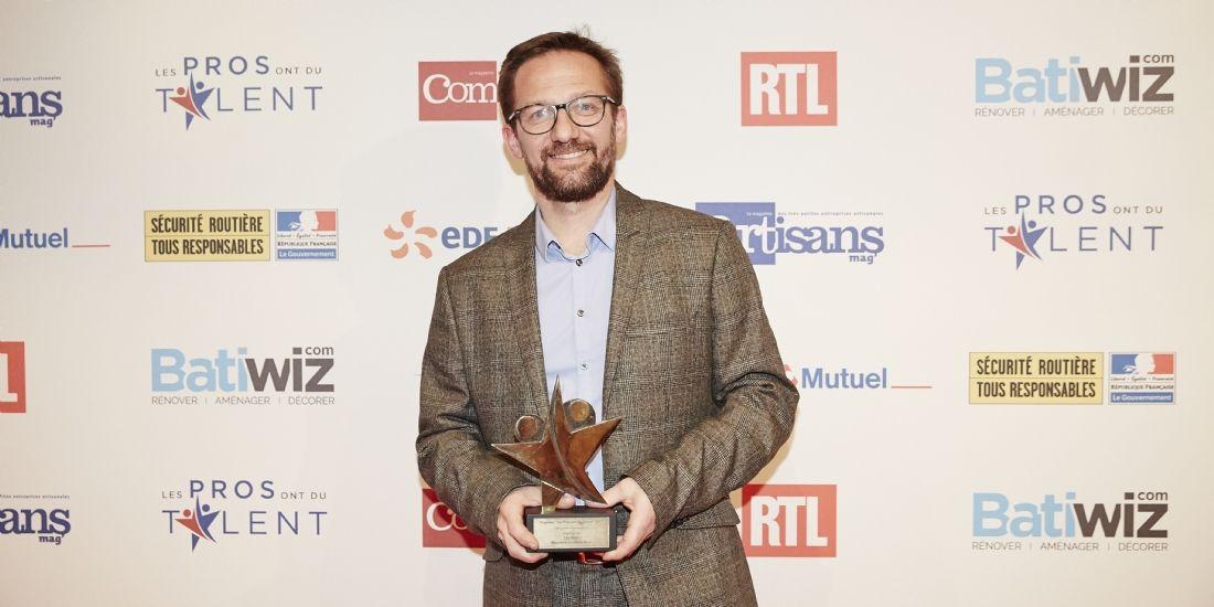 Les Pros ont du talent 2017 : Eric Nion, un bijoutier en Or dans la catégorie Innovation
