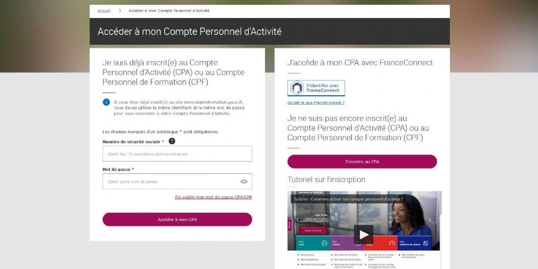 Compte personnel d'activité (CPA) : comment ça marche?