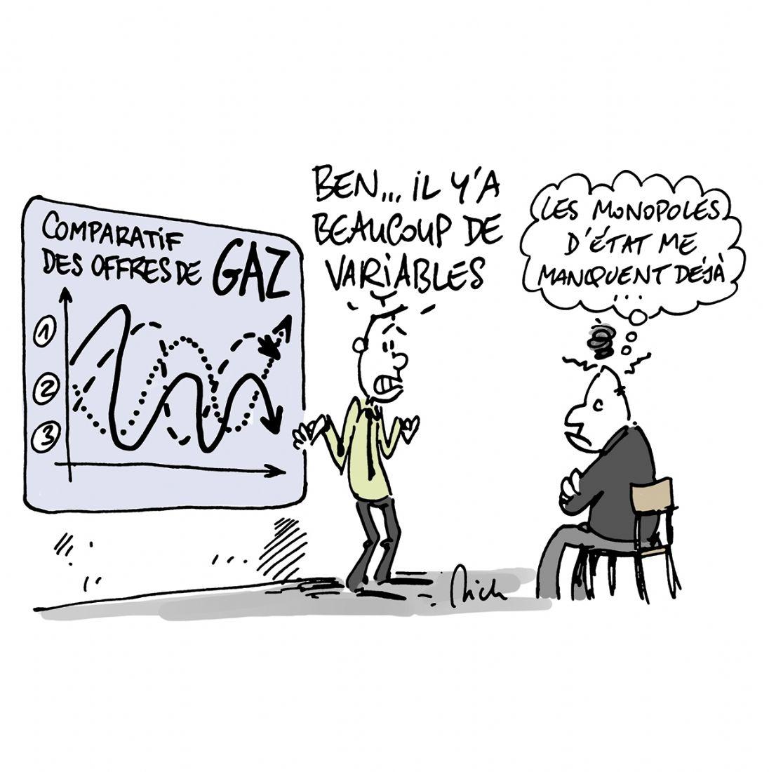 4 cl s pour comparer les offres de gaz - Gaz tarif reglemente ou prix fixe ...
