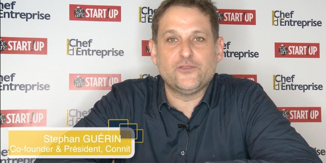 [Vidéo] #SDE2017 : le pitch de la start-up Connit