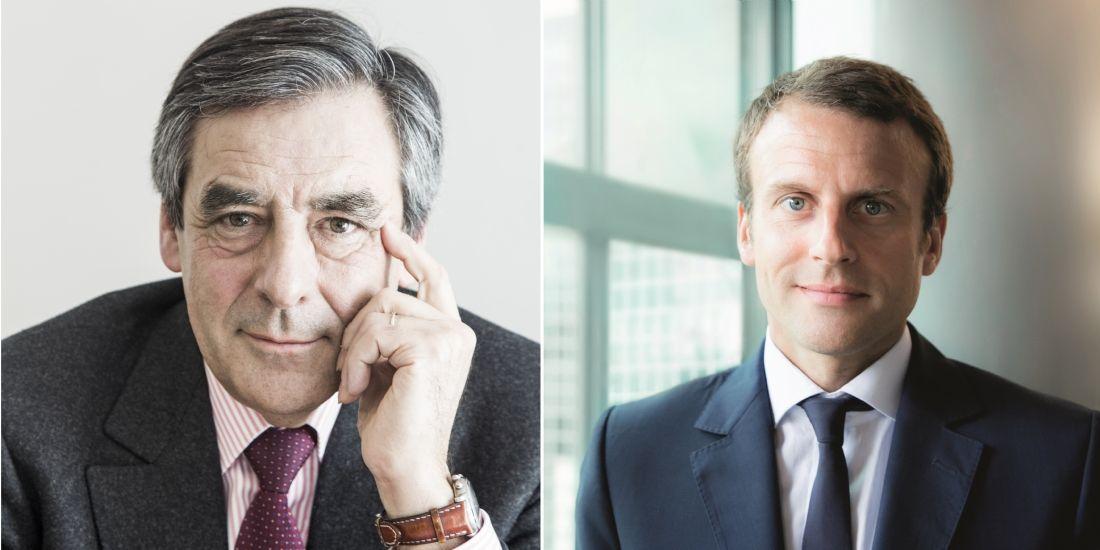 Les dirigeants d'entreprises de croissance plébiscitent le programme de François Fillon et d'Emmanuel Macron