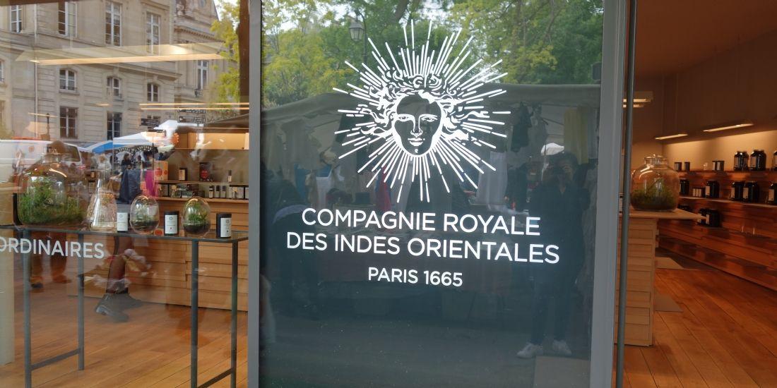 La Compagnie royale des Indes orientales renaît avec l'ouverture d'une boutique
