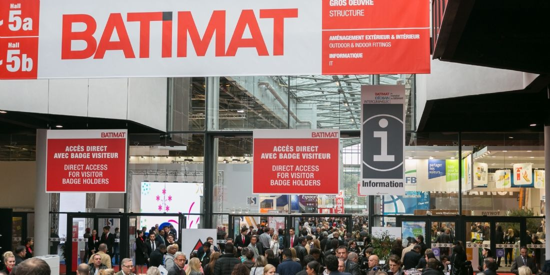 Le salon Batimat en 2015
