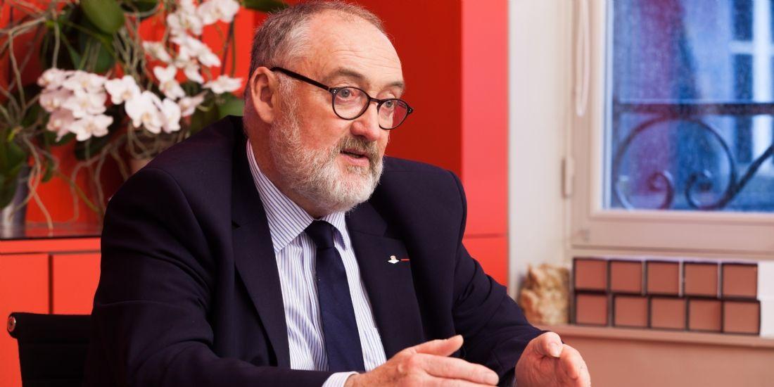 Patrick Liébus, président de la Capeb: 'Il y a des points d'accord et de désaccord avec Emmanuel Macron'