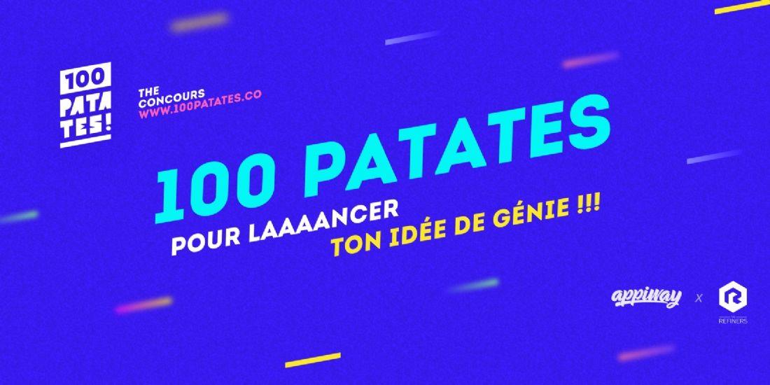"""""""100 patates"""", un concours pour propulser les entrepreneurs du numérique"""