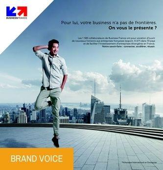 Frédéric Rossi, Directeur Général délégué à l'activité Export chez Business France' BUSINESS France met en avant l'innovation des PME '