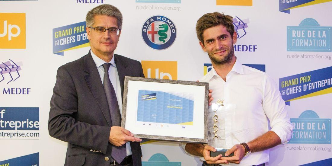 GPCE 2017 : SmartPixels est la start-up de l'année 2017