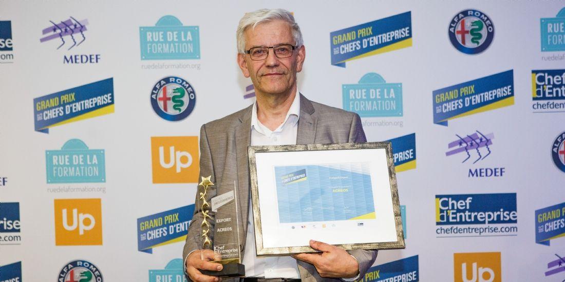 GPCE 2017 : la PME lorraine Acreos récompensée dans la catégorie Export
