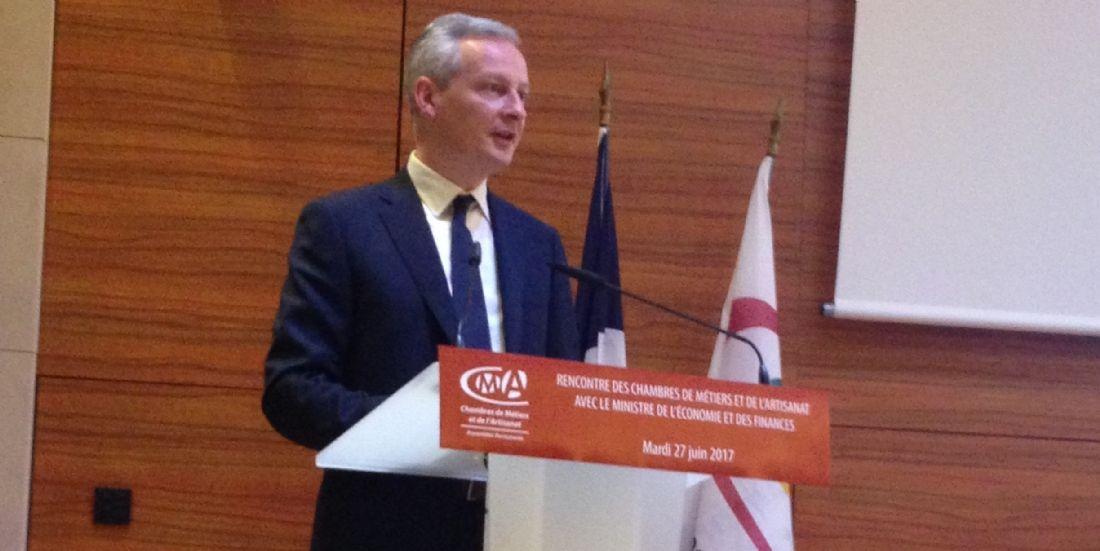 Financement: Bruno Le Maire vole au secours des TPE