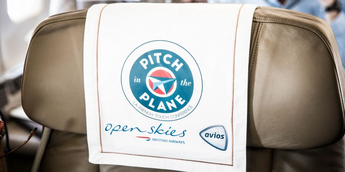 Pitch in the Plane : la start-up Mapwize remporte le premier prix