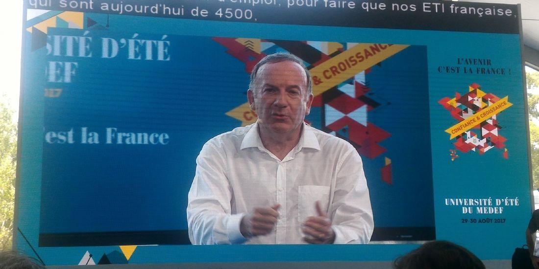 Pierre Gattaz reste vigilant sur la réforme du code du travail