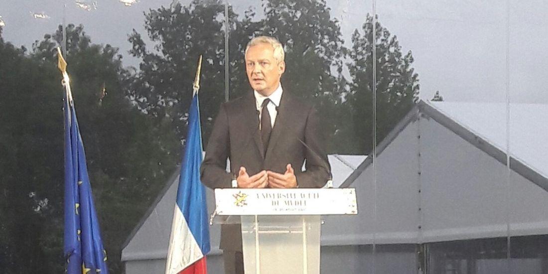 Bruno Le Maire confirme la baisse de l'IS