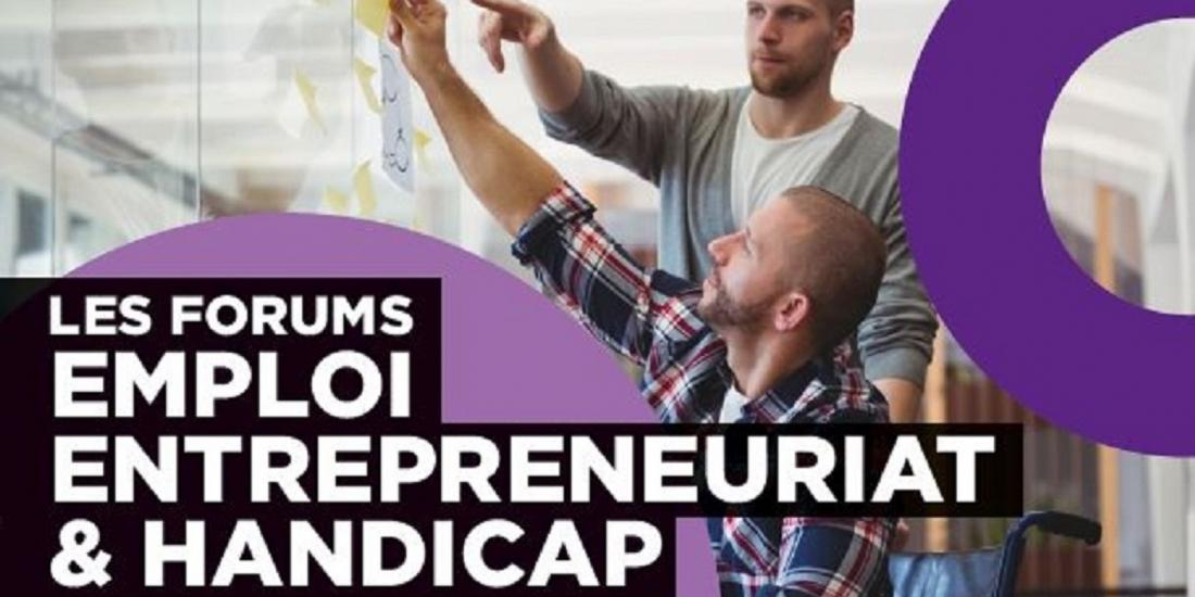 Un forum pour réconcilier handicap et entrepreneuriat