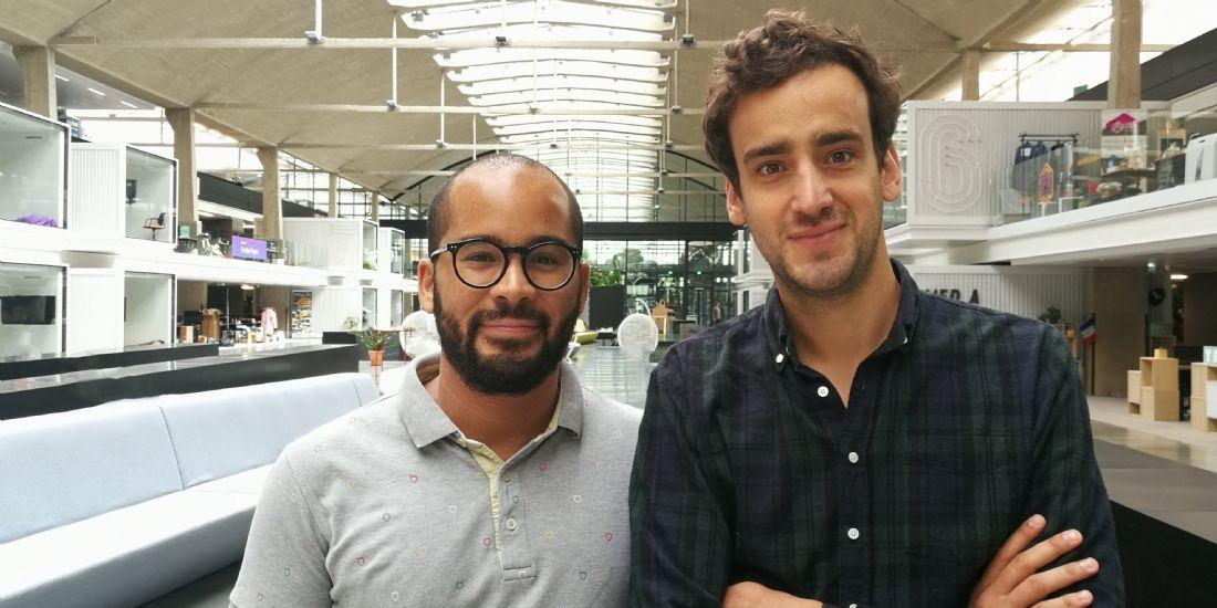 Fabien Akunda et Benoit Raulin co fondateurs de Wehom