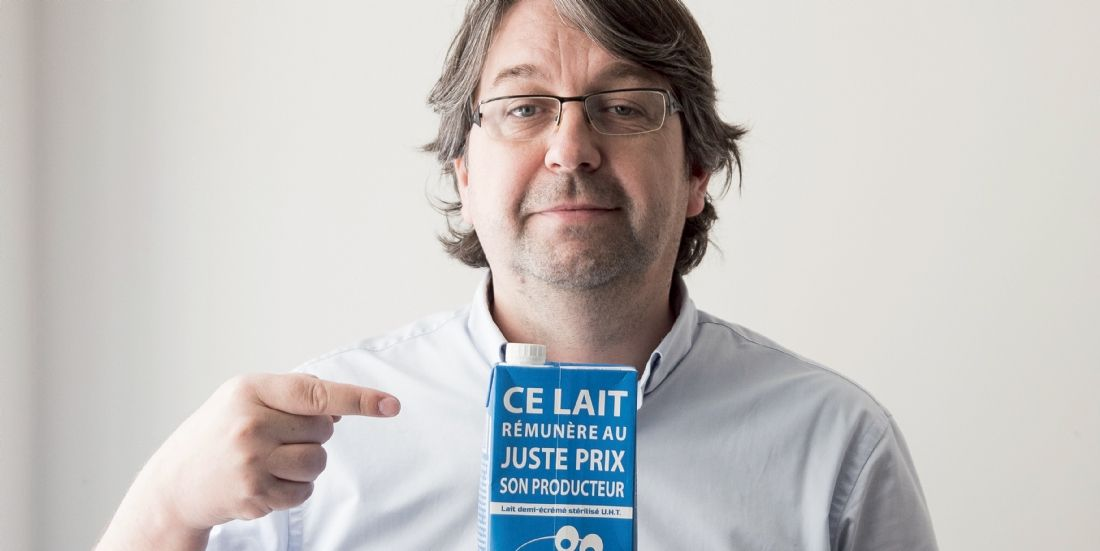 Nicolas Chabanne : 'Je veux soutenir les petits producteurs'