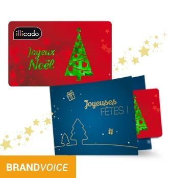Carte Cadeau Fnac Auchan.Cartes Cadeaux Illicado Un Cadeau De Noel 100 Exonere De