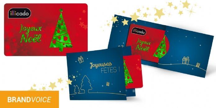 CARTES CADEAUX ILLICADO : un cadeau de Noël 100% exonéré de charges