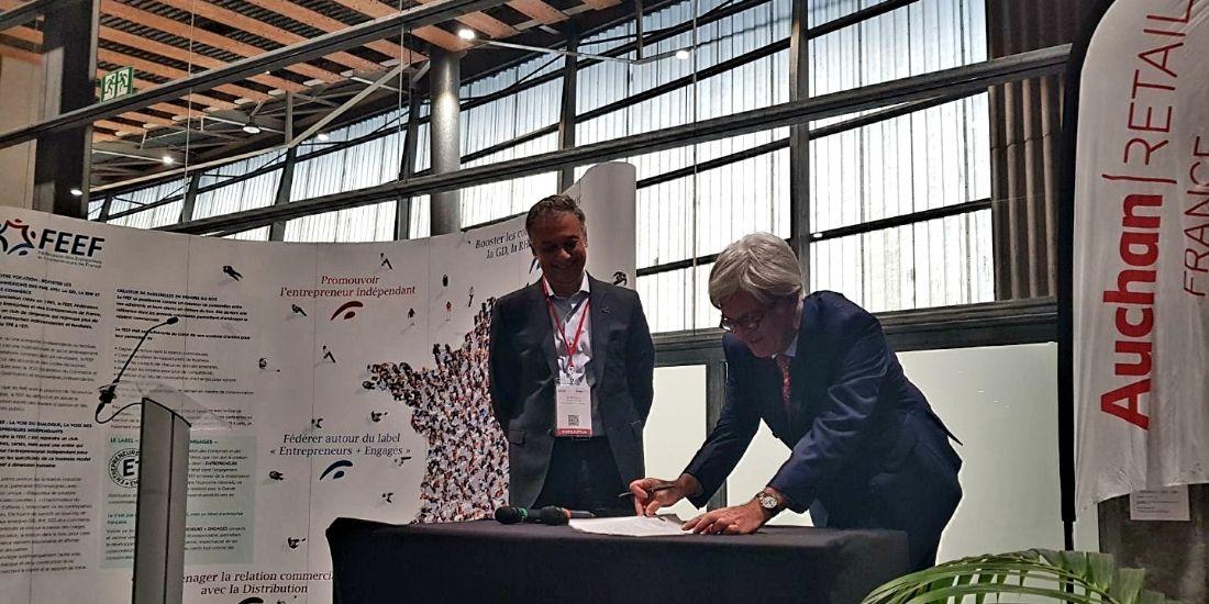 Auchan Retail s'engage sur une collaboration commerciale favorable aux entrepreneurs et PME indépendants