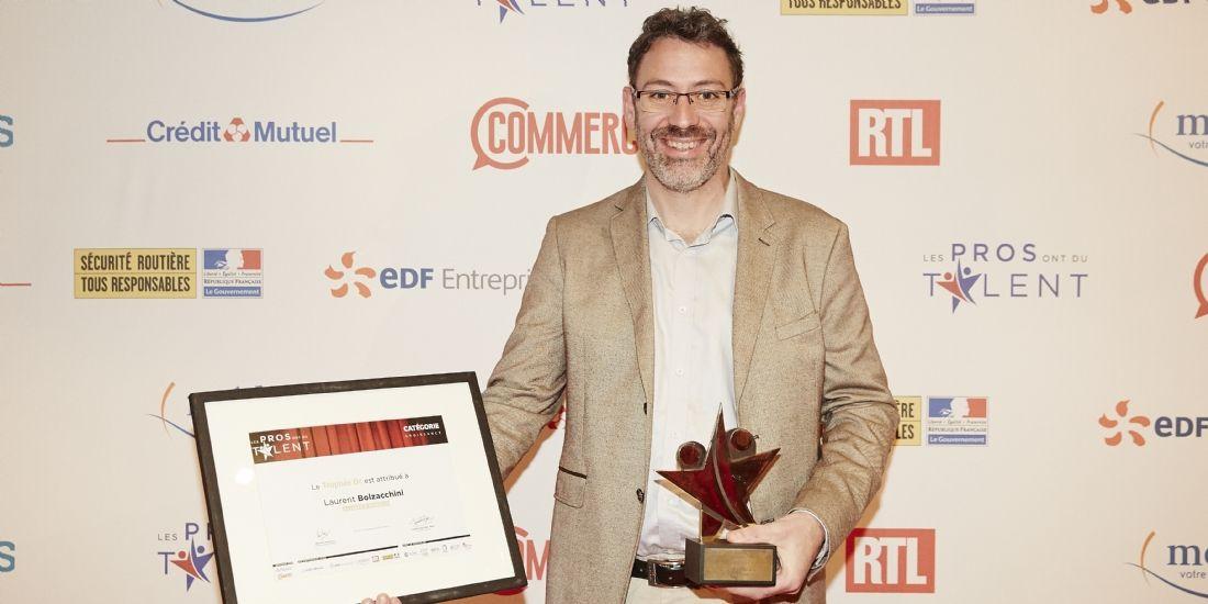 #LesPros2018 : Laurent Bolzacchini, lauréat Or de la catégorie Croissance