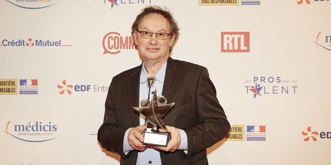 #LesPros2018 : Jean-Claude Berton, dirigeant de la chocolaterie Berton, remporte le prix Or dans la catégorie Innovation