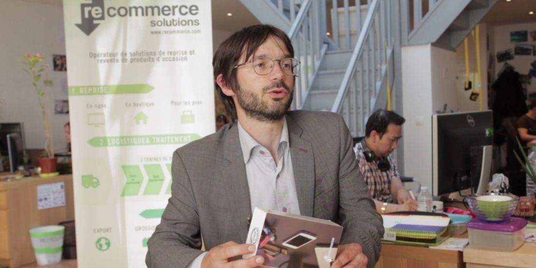 Benoît Varin, co-fondateur de Recommerce