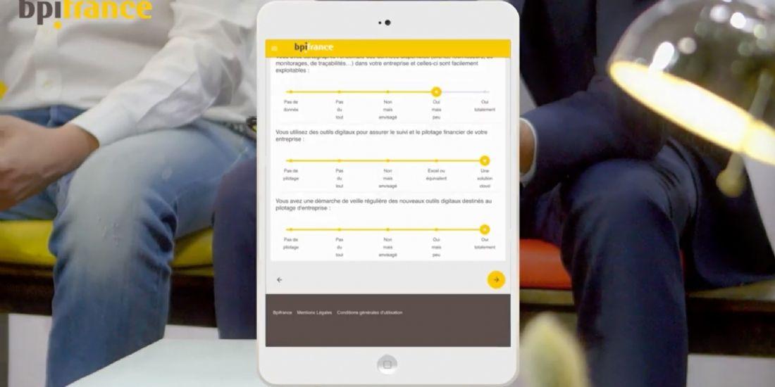 Bpifrance lance un outil pour évaluer la maturité digitale des PME