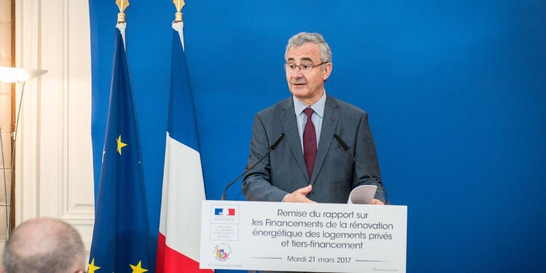 Philippe Pelletier, président du Plan Bâtiment Durable : 'Les artisans sont la clé du succès'