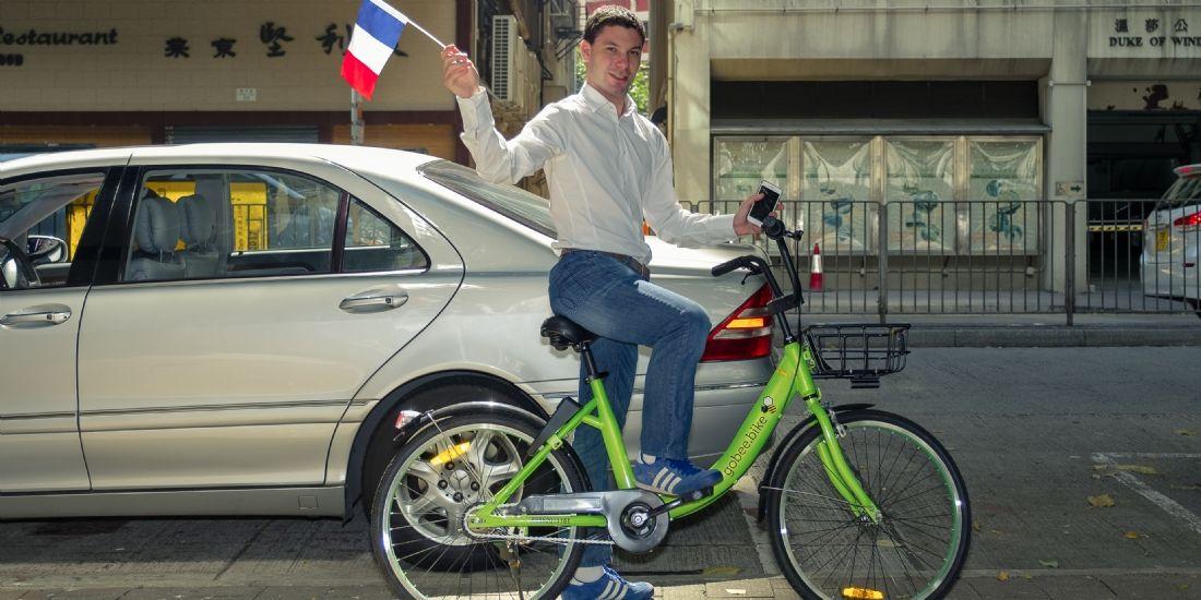 Raphaël Cohen, le fondateur de Gobee.bike