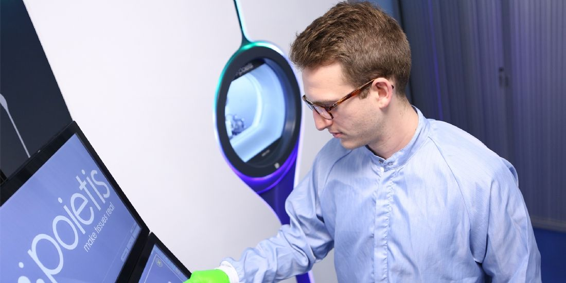 Poietis lève 5 millions d'euros pour accélérer le développement de sa plateforme de bio-impression