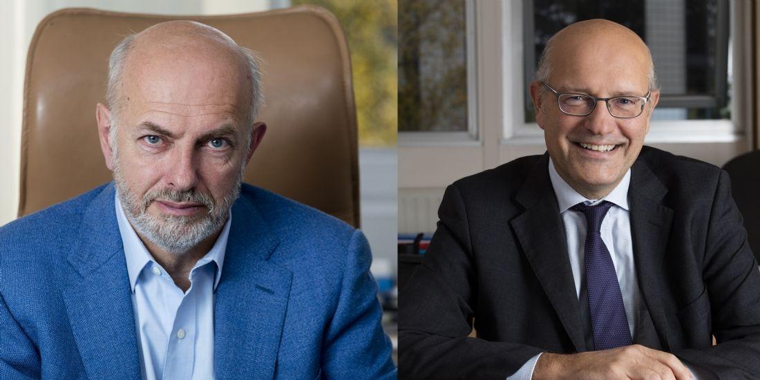 Olivier Denis du Péage, président, et Ludovic Hardouin, dg de Quies